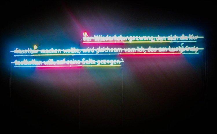 Dan Flavin lights
