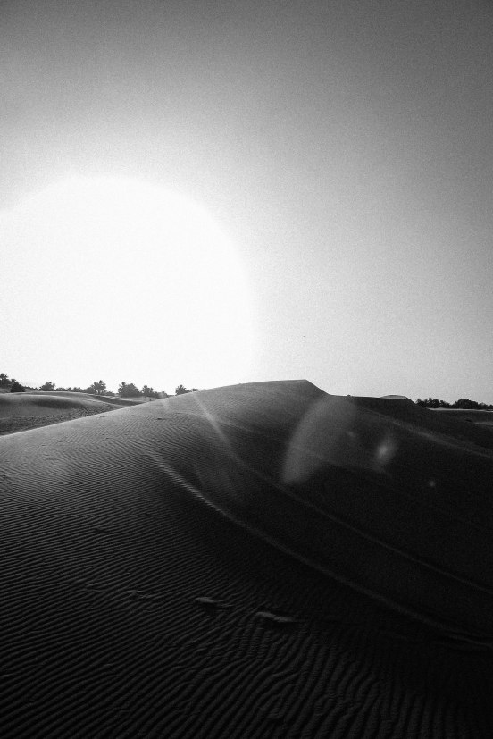 Sunset Sahara