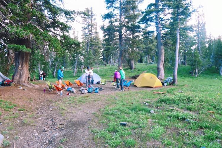 Gilmore Lake Camp