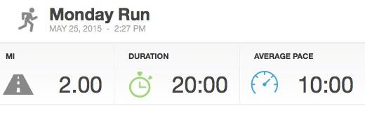 My First Run